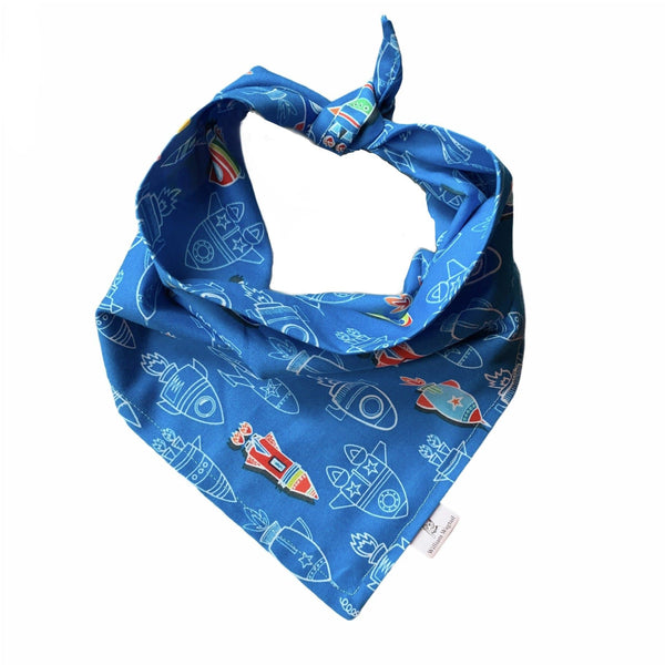 Blast-Off Bandana - William Wagtail