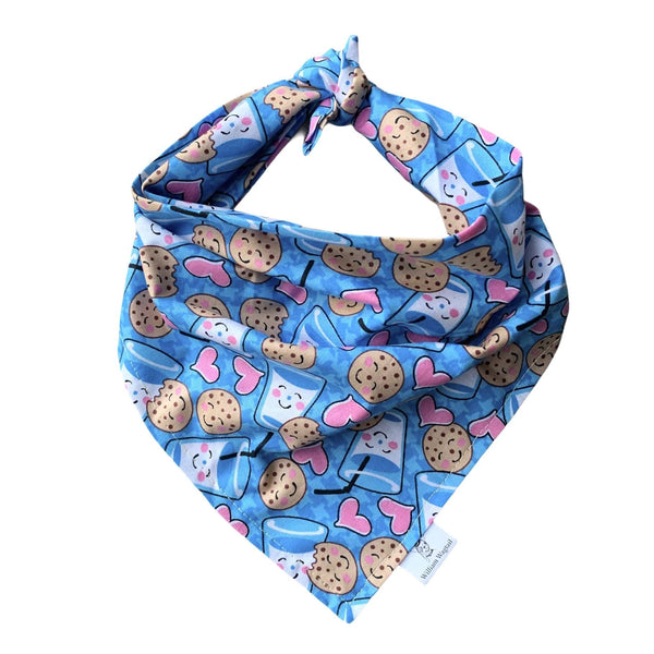 Milk and Cookies Bandana - William Wagtail