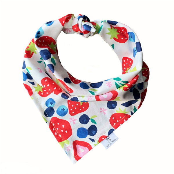 Bountiful Berries Bandana - William Wagtail