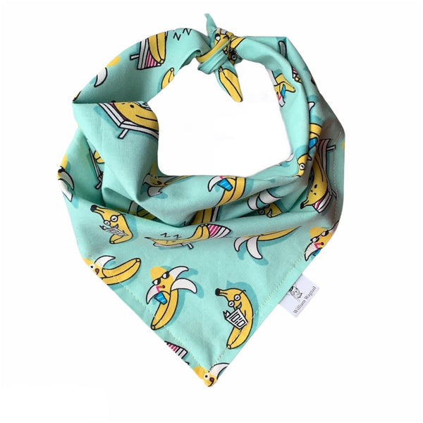 Go Bananas Bandana - William Wagtail