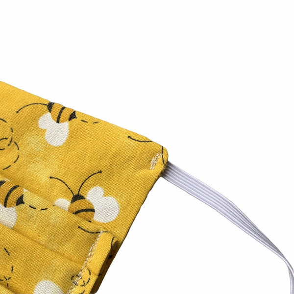 Busy Bee Reusable Face Mask - William Wagtail