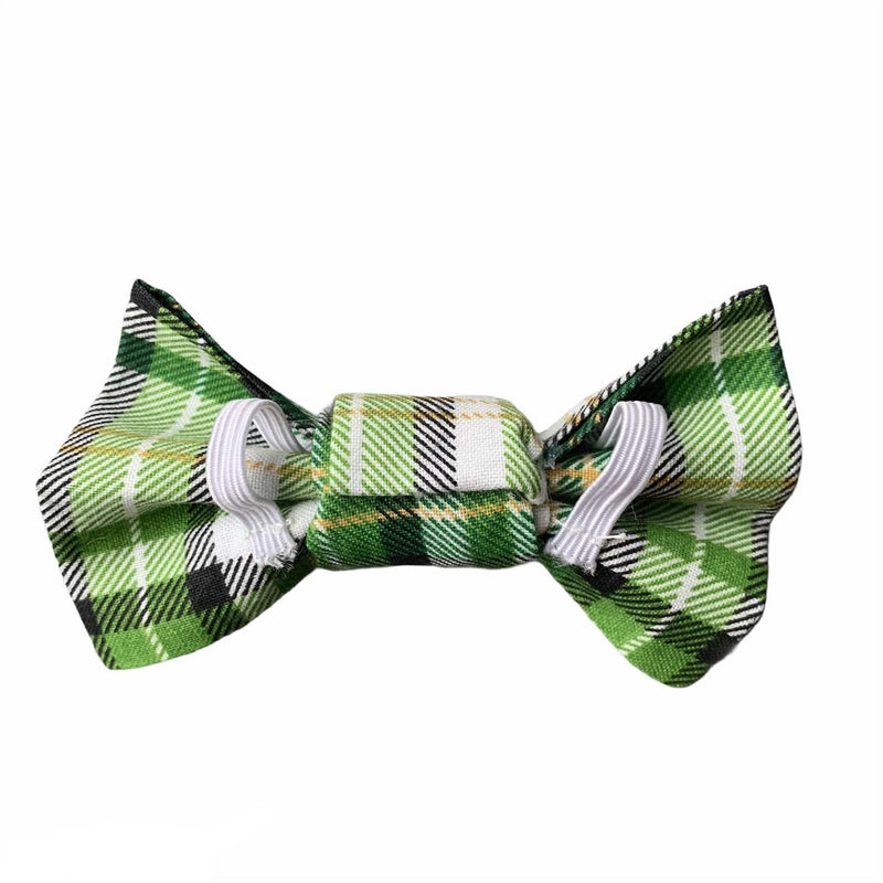 Luck of the Irish Plaid Bowtie - William Wagtail