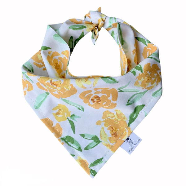 Fields of Goldenrod Bandana - William Wagtail