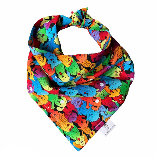 Dogs of Pride Bandana - William Wagtail