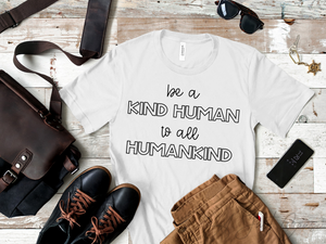 Kind Human, Humankind - Black Ink Only