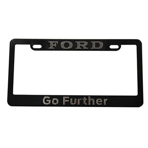 MARCO PLACA FORD CROMO