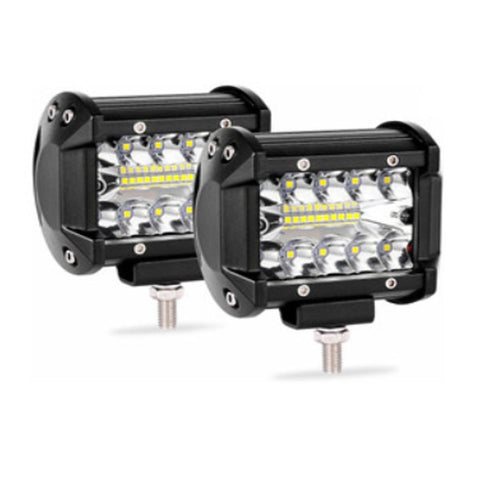 FARO BARRA 20 HYPER LEDS 30 WATTS RECTANGULAR (9.8x7.7x7 cms) 2700-3000 Lm 12-36V 6K CHINA /25