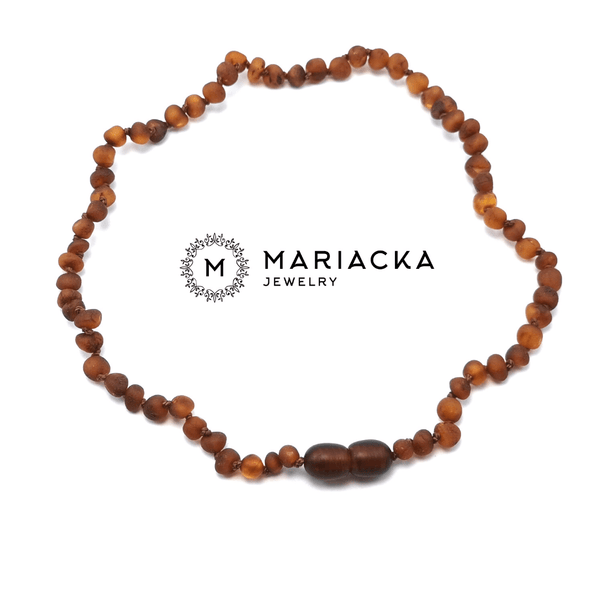 Mariacka Pack collar cognac crudo