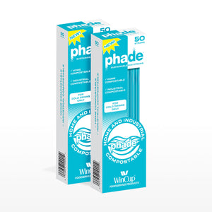 "7.75"" Jumbo Eco-STRAWS - Two 50 ct phade Boxes"