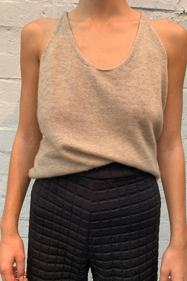 Cashmere Basic Tank Top