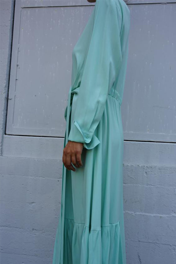 DABBAR Knotted Dress