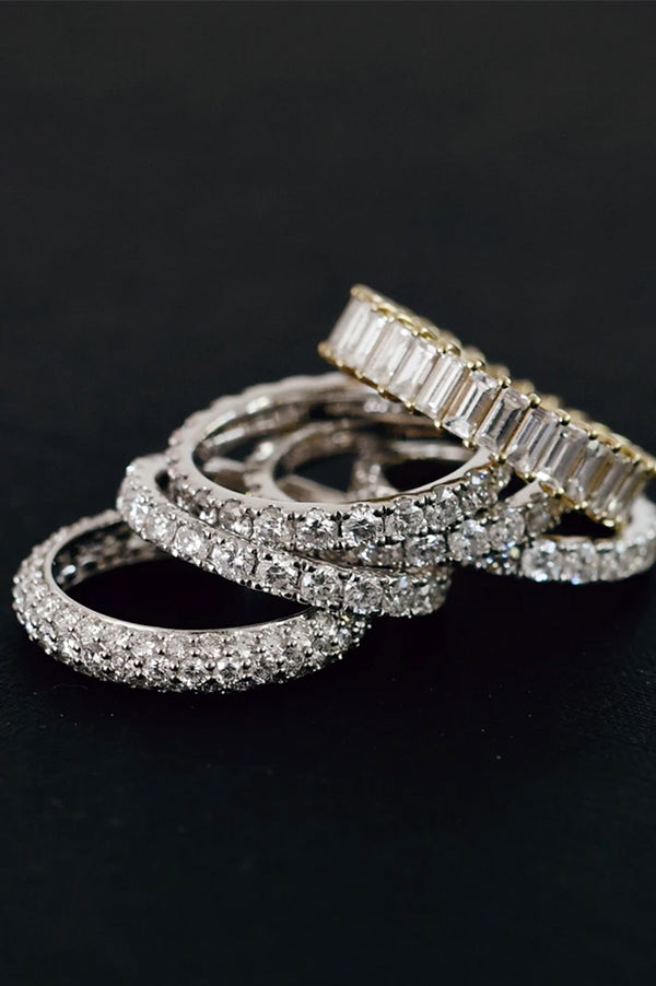 Diamond Domed Ring