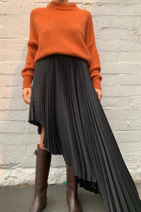 Fibonacci Elipse Pleated Skirt