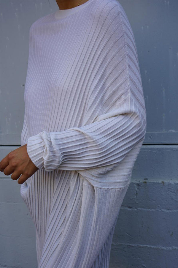 Four Slit Over Sweater
