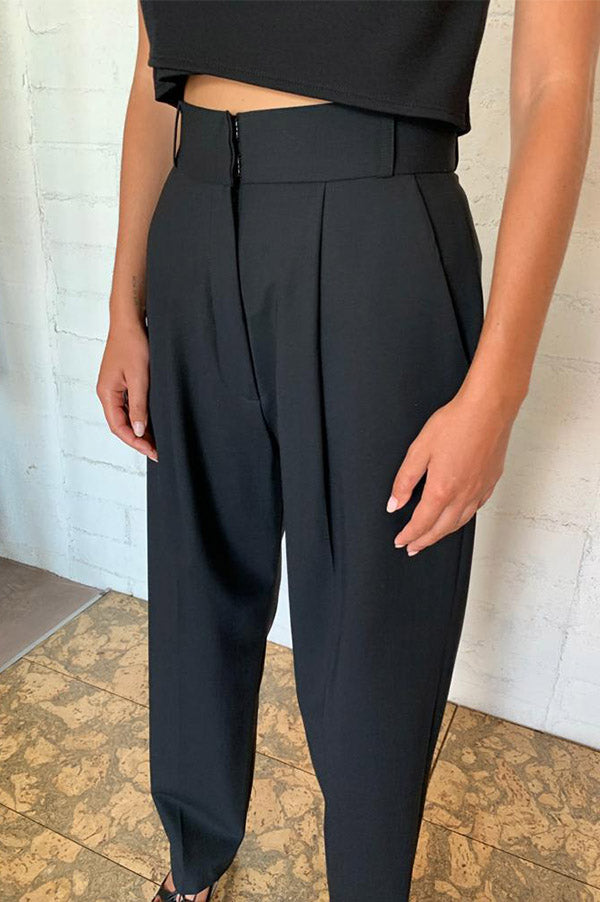 Japanese Suiting Pant with Single Pleat