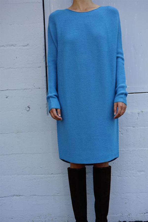 KOH Whole Garment Roundneck Dress