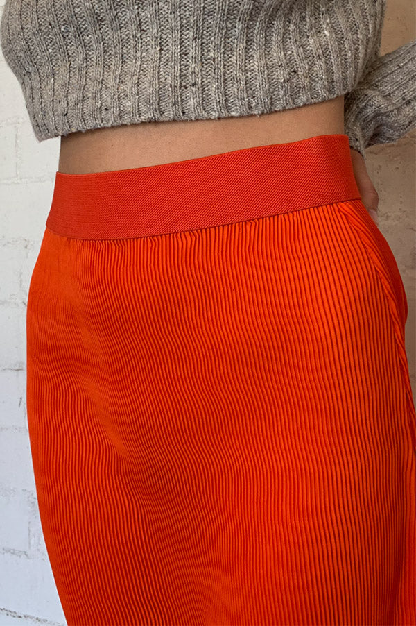 Micro Pleat Skirt