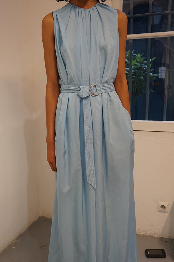 OMAN OVERALL Light Blue Jumpsuit