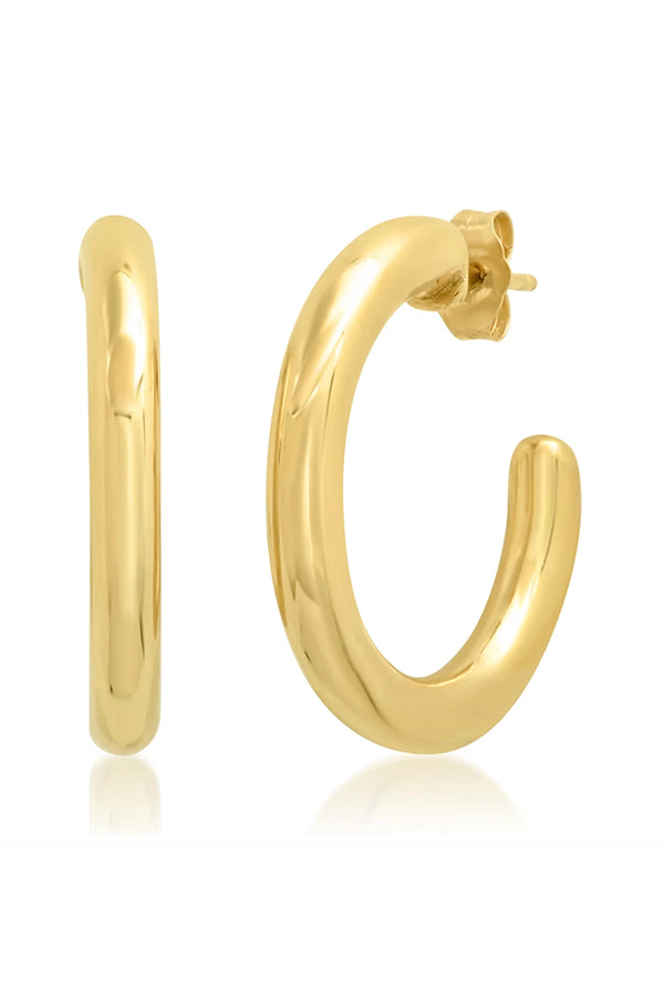 GOLD PARTY HOOPS