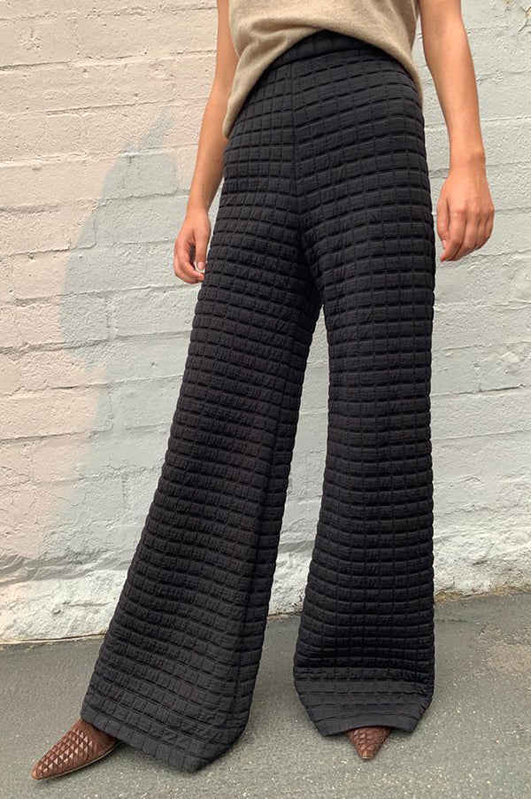 Quilted Knit Pant
