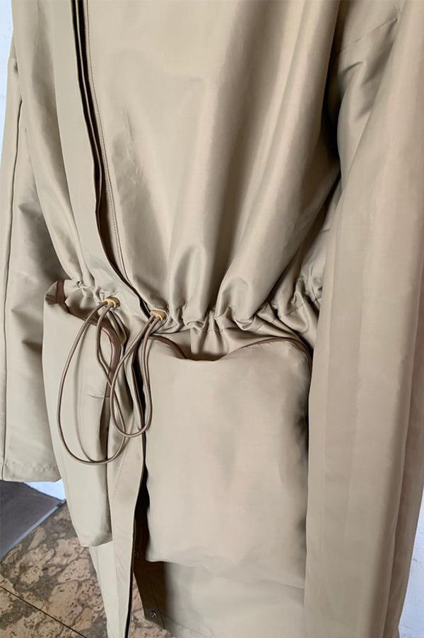Camel Outback Convertible Coat