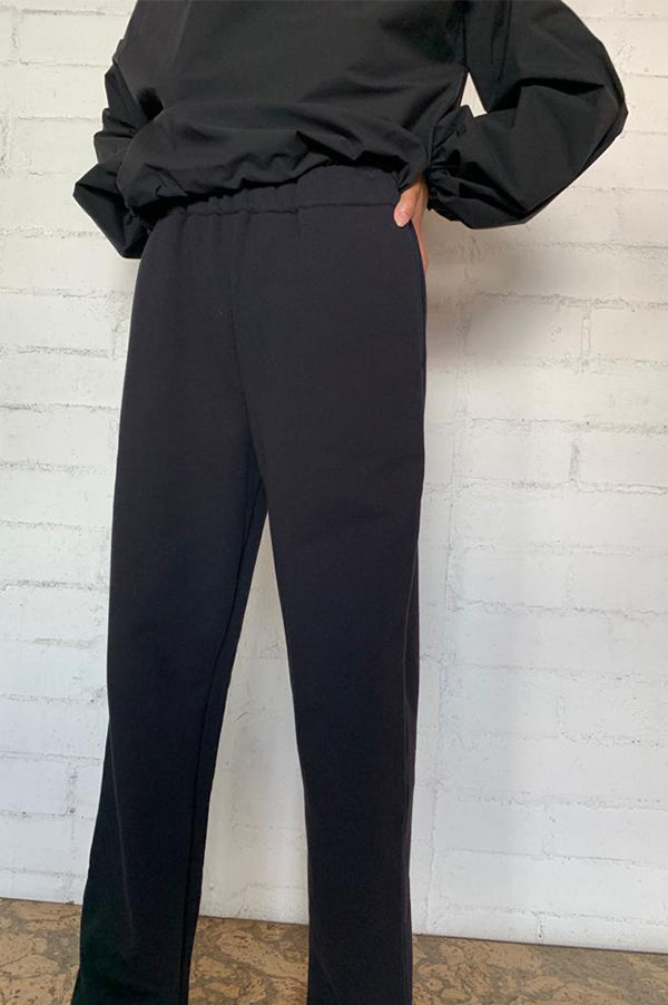 Windsor Black High Waisted Sweatpants