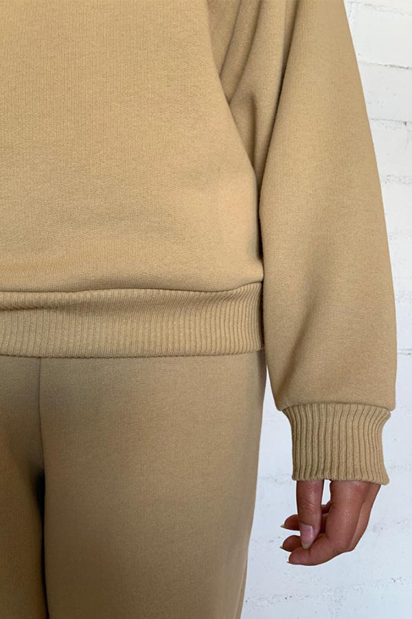 The Stevie Jumper in Camel