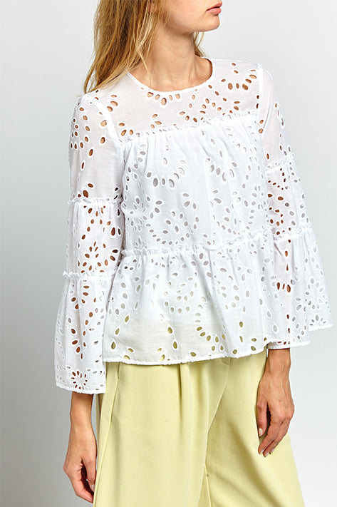 Abigail Butterfly Sleeve Top