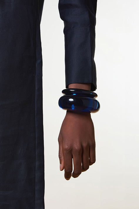Ark Cuff in Indigo