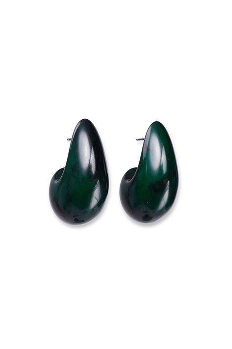 ARP Earrings In Dark Green