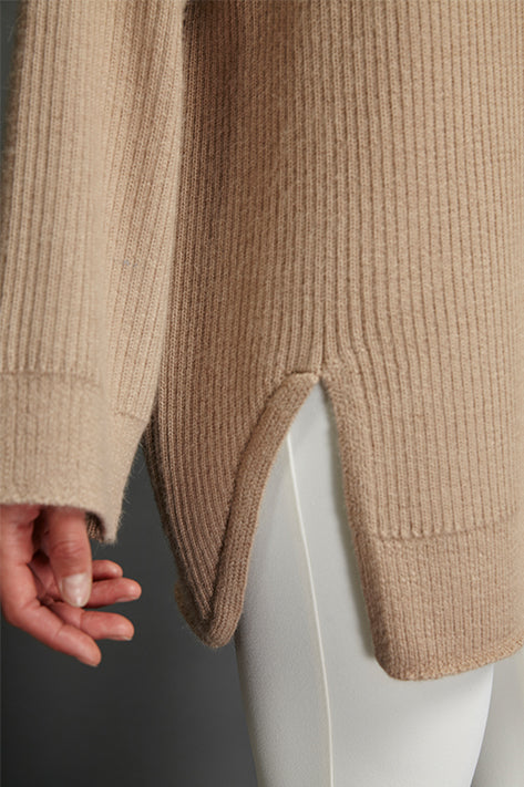 Beige Celine Sunday Sweater