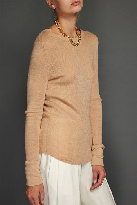 Bisque Addison Cashmere Thermal