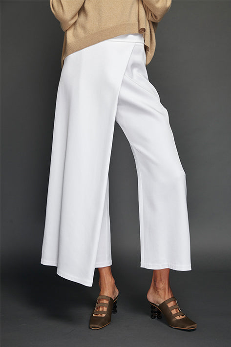 Bonded Satin Trouser
