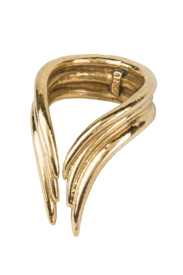 Bronze Bow Ring