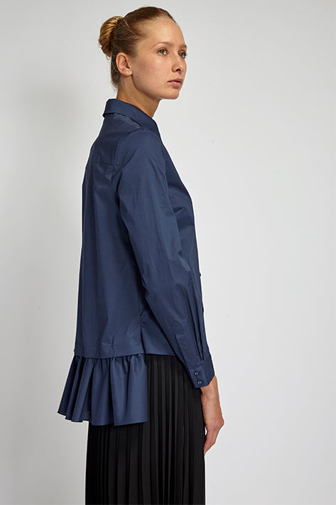 Claude Detachable Ruffle Shirt