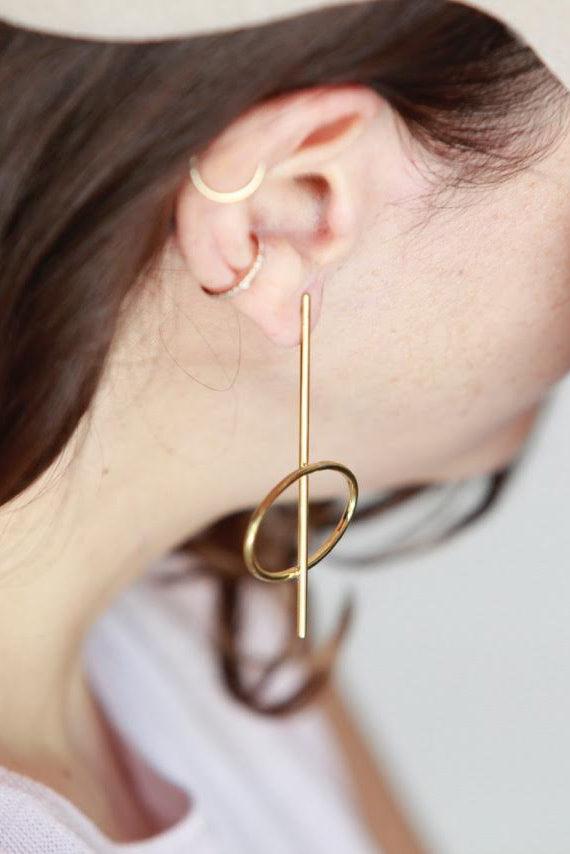 Lunar Earrings (Pair)
