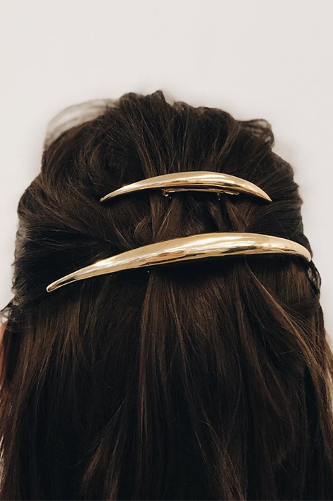 Double Colmillo Barrette