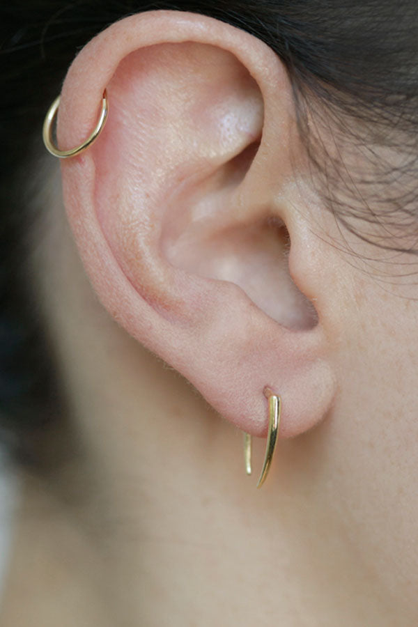 Infinite Tusk Earrings
