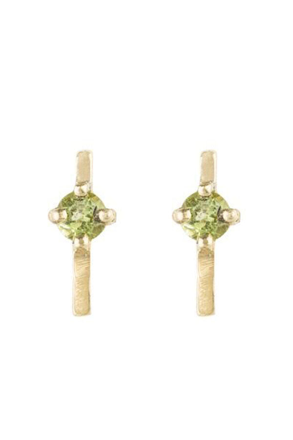 Little Horizon Peridot Earrings
