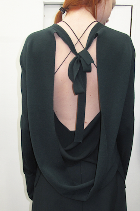 Loop Back Knit Tie
