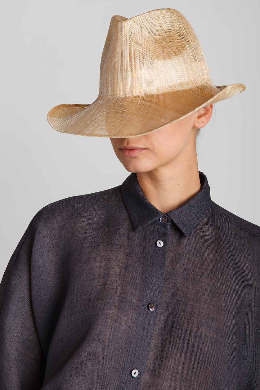 Natural Dennis Sisal Straw Hat