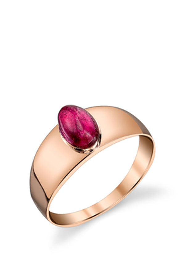 Ruby Baby Signet Ring