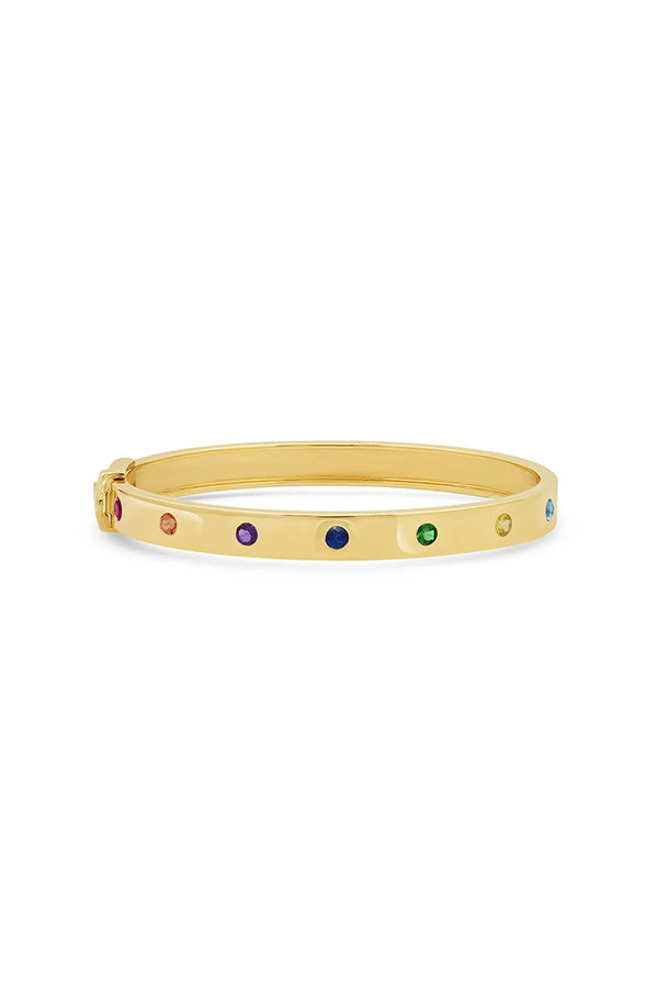 Round Multi Colored Bangle