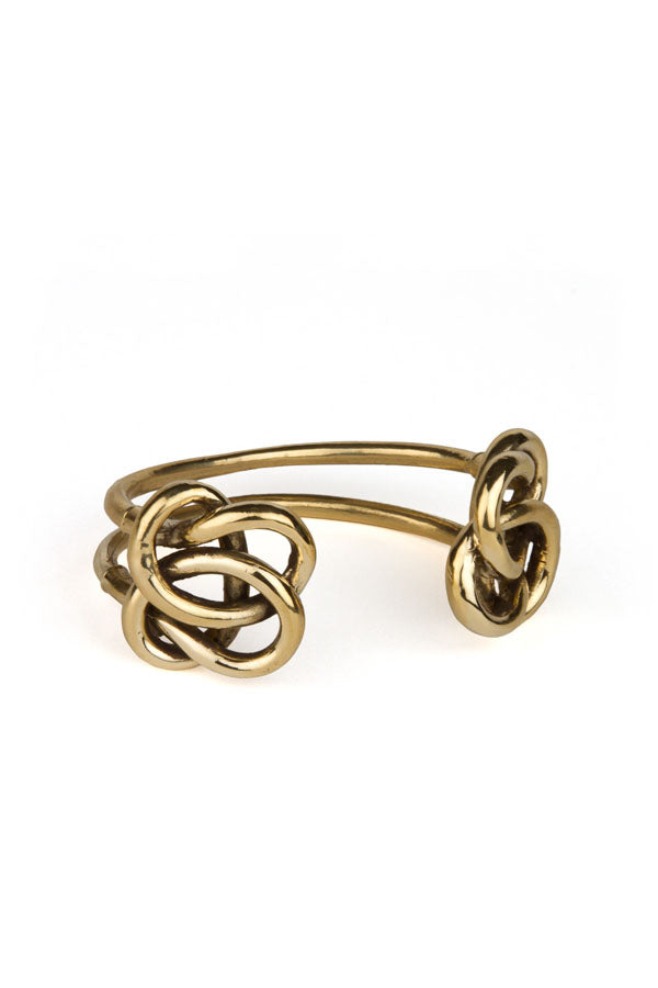 Solar Spray Double Knot Cuff