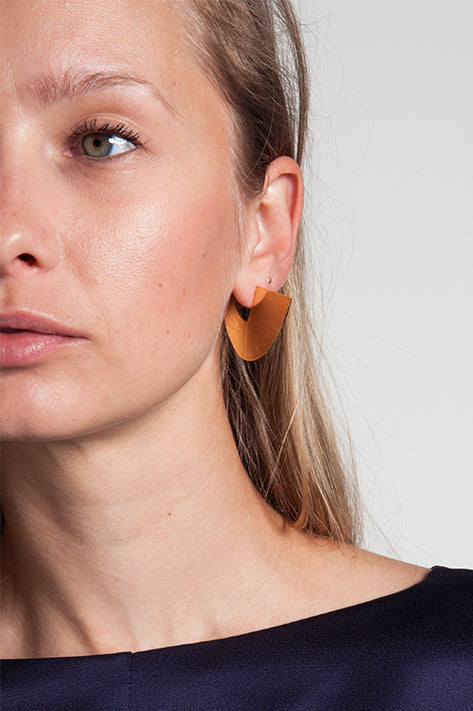 Solar Shuffle Gold Earrings