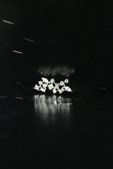 Star Cluster Diamond Earring