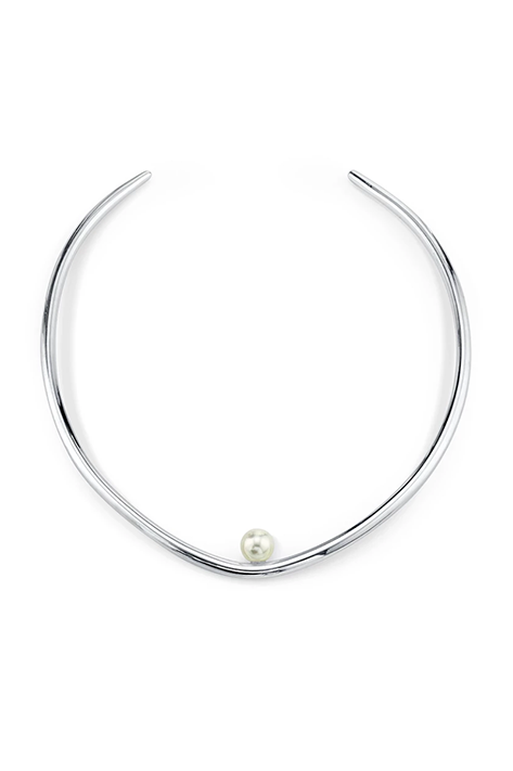 Suspended Pearl Choker
