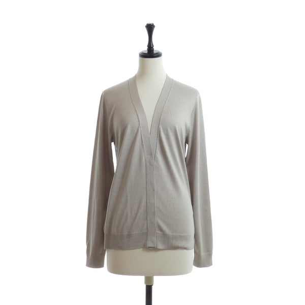 MAYUCA Silk V-neck Cardigan