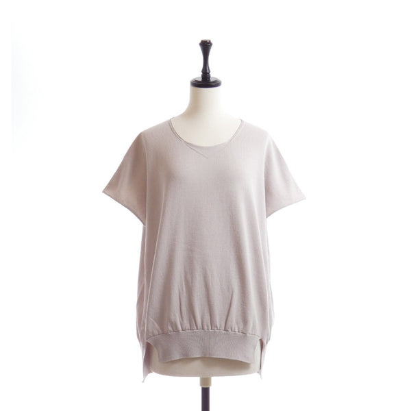 Cotton-blend Wide Silhouette Pullover