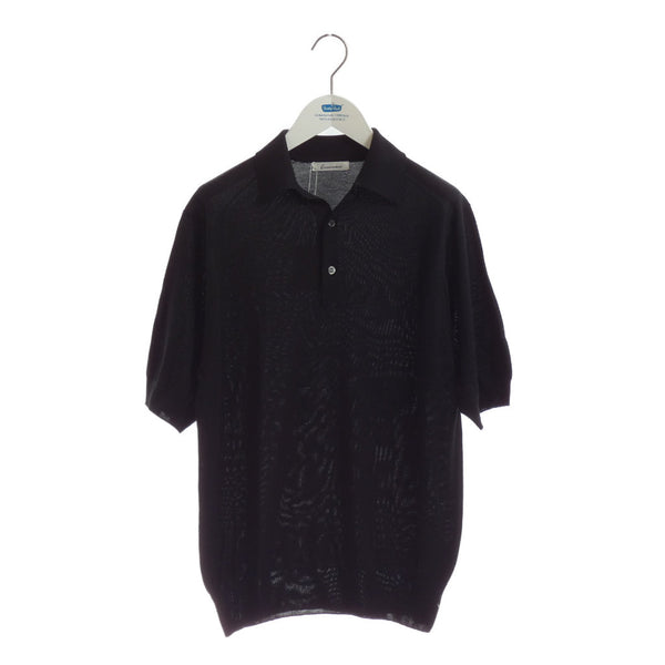 MAYUCA Men's Silk Polo Shirt